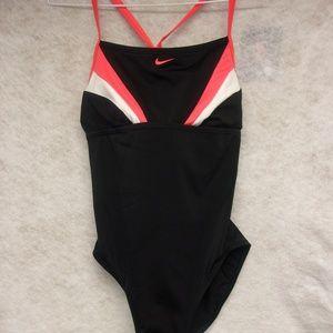 Nike One Piece Bathing Suit Size Medium (10)